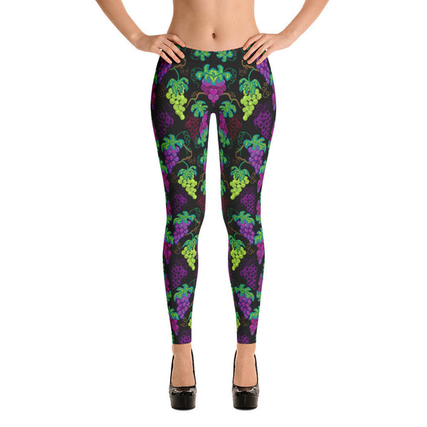 Leggings - Grapes