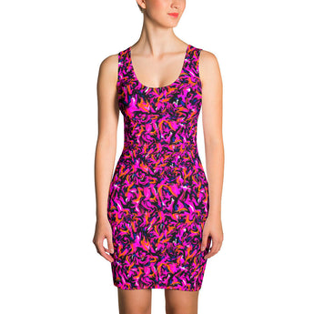 Bodycon Dress - Wild Thing, Hot Pink