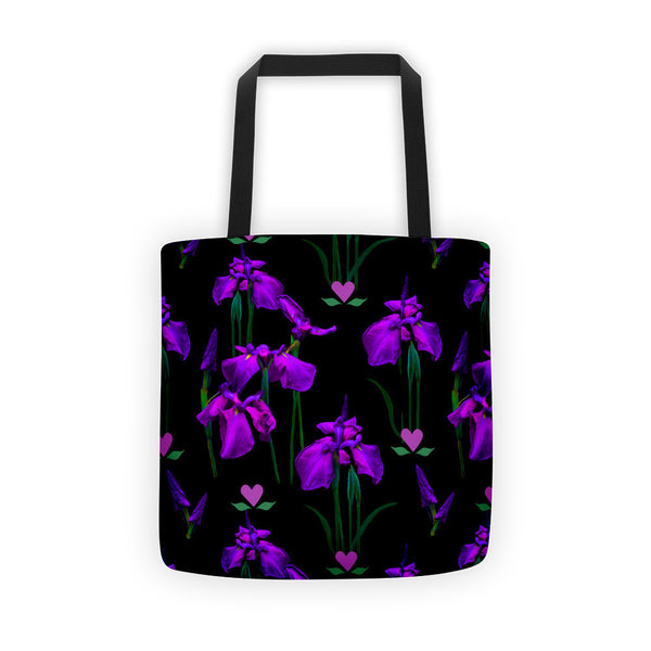 Tote Bag - Purple Iris