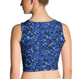 Crop Top - Edgy Blue