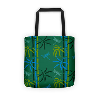 Tote bag - Dragonflies in Bamboo Forest