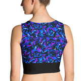 Crop Top - Wild Thing, Blue