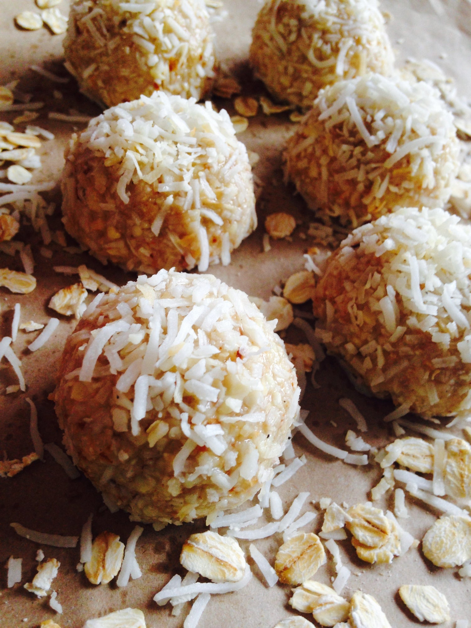 Anzac Cookie Inspired Balls