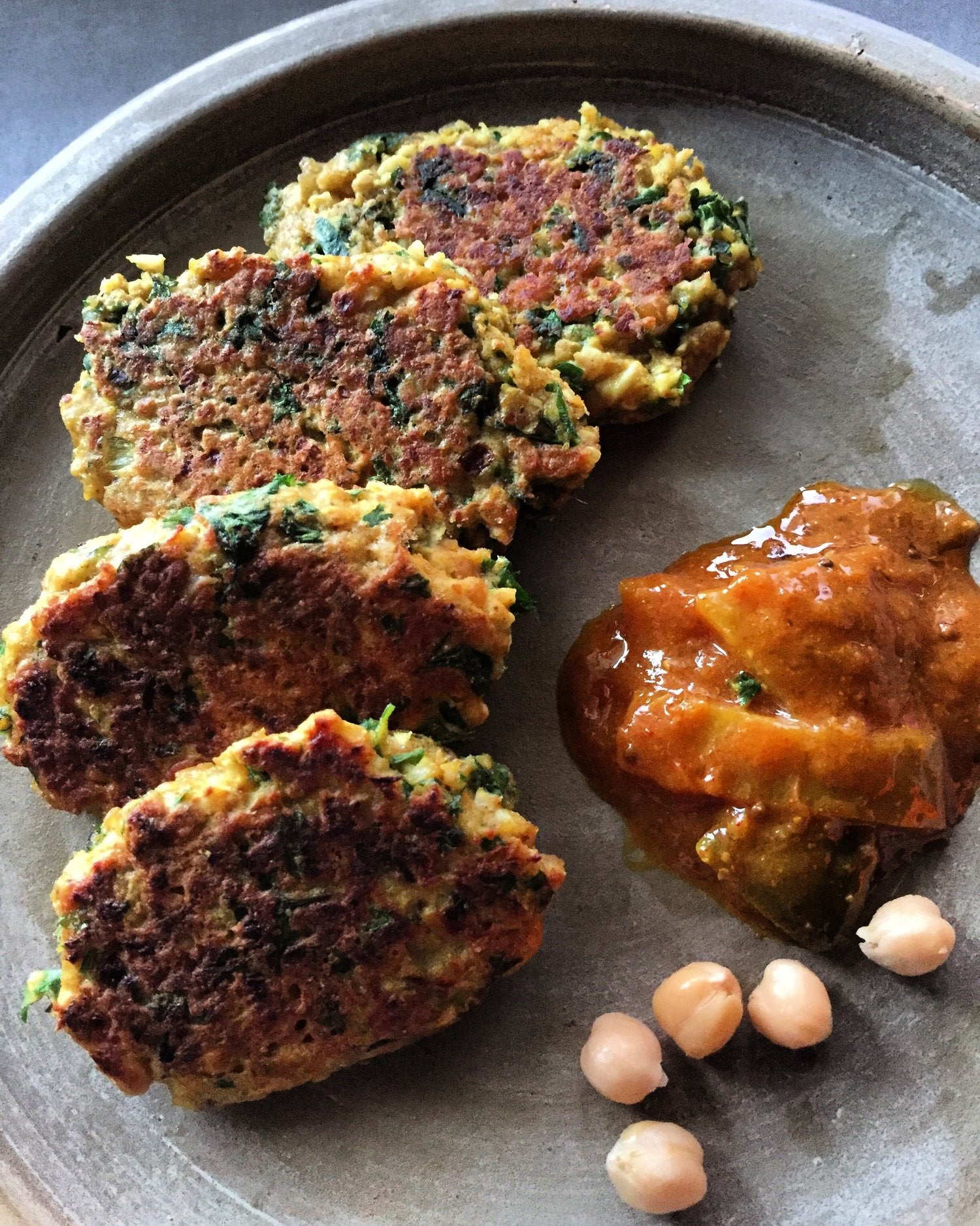 Cauliflower, Chickpea and Turmeric Kofta's