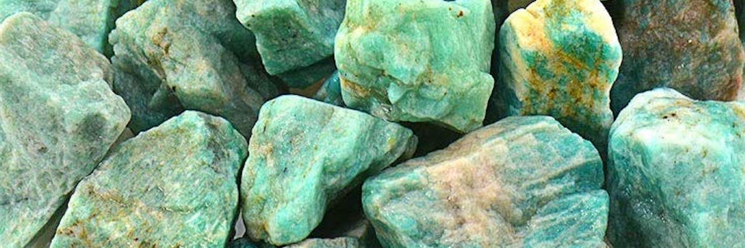 Amazonite Meaning & Healing Properties Crystal Banner