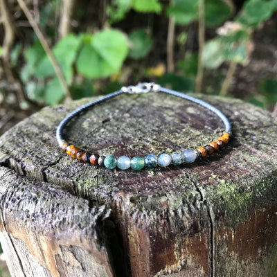 Earth Elements healing Anklet
