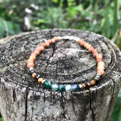 Earth Sign Elements Ladies Bracelet for healing