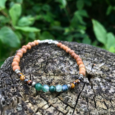 Earth Sign Elements Ladies healing Bracelet