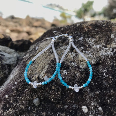 Healer's  crystal Earrings