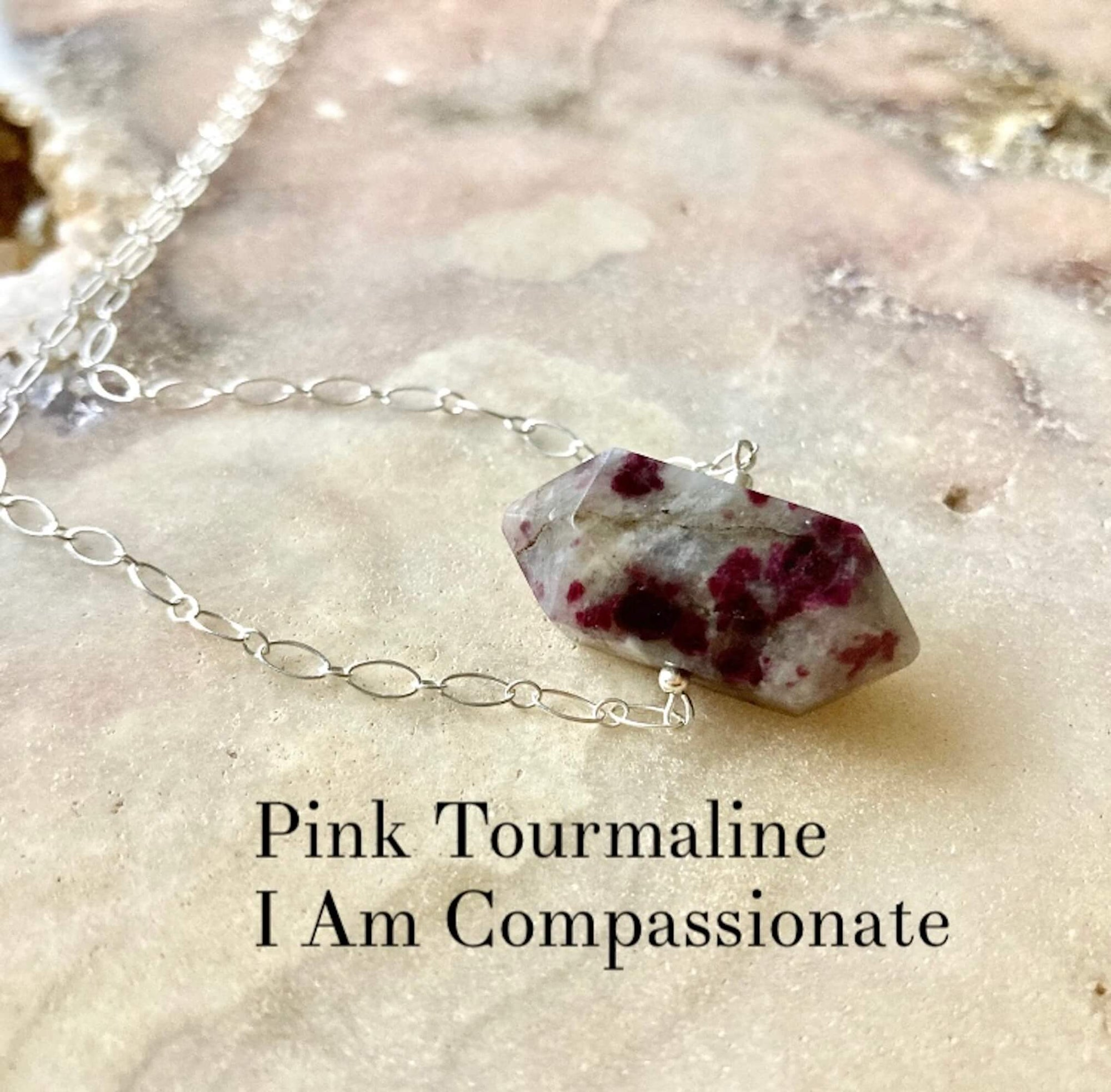 I Am Compassionate healing Necklace