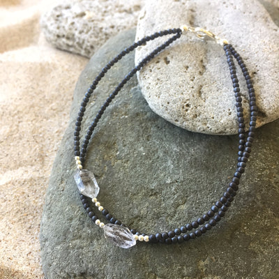 Seeker of Light Double Strand Anklet