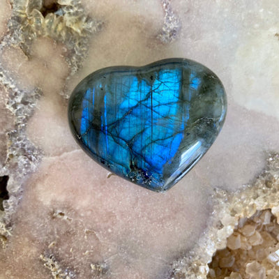 Labradorite heart Large-Medium 5