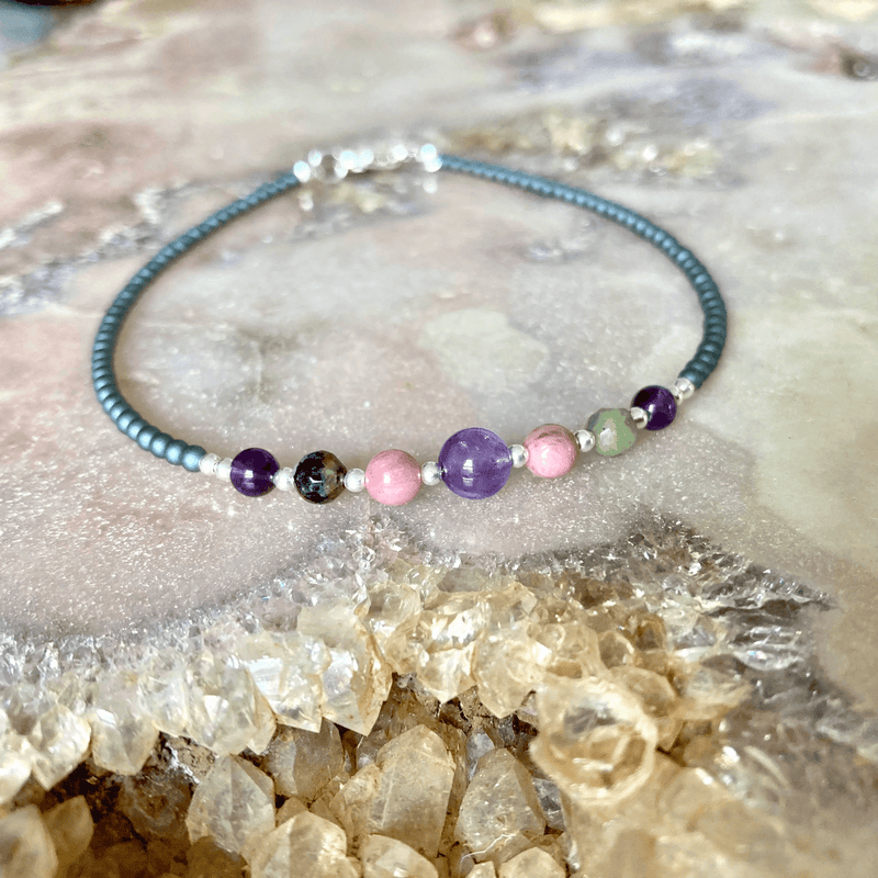 Malama Healing womens crystal Anklet