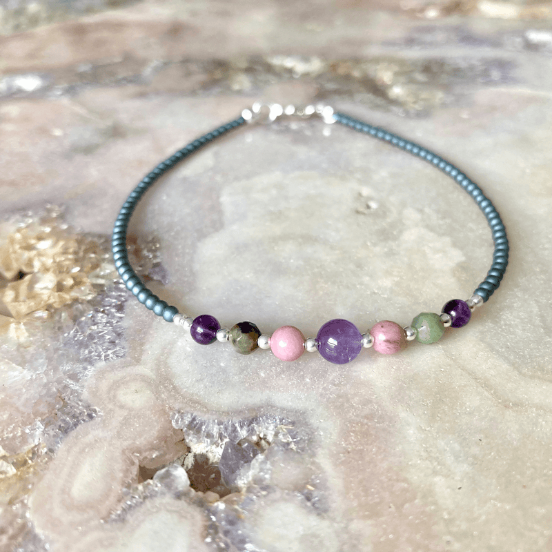 Malama crysta Healing Anklet