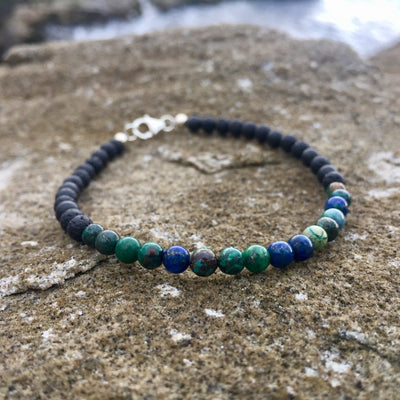 Mens diffuser bracelet for focus & Inner Wisdom