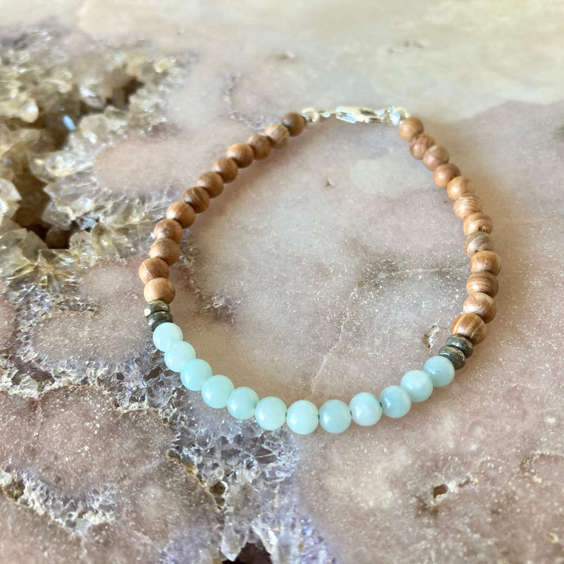 Throat Chakra Bracelet for healing