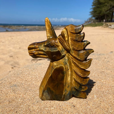 Tiger eye unicorn 4