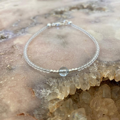 Topaz ladies November birthstone bracelet for ladies