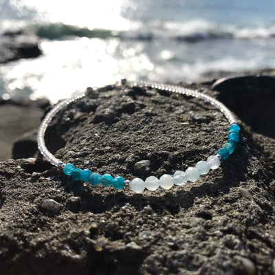 Water Elements Crystal Anklet