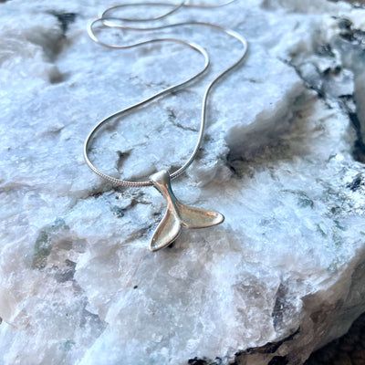 Whale Tail unisex Necklace