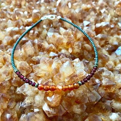 fire Elements Crystal Anklet
