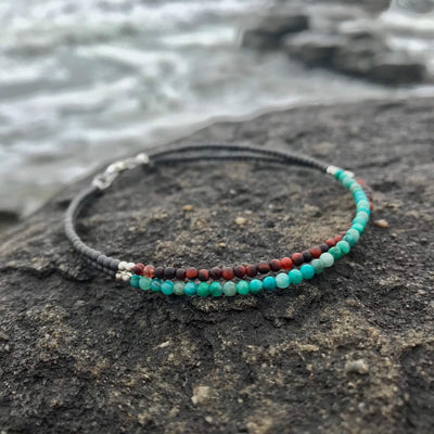 healing Anklet Of Empowerment & Grounding