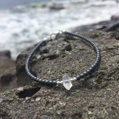 seeker of light herkimer diamond bracelet