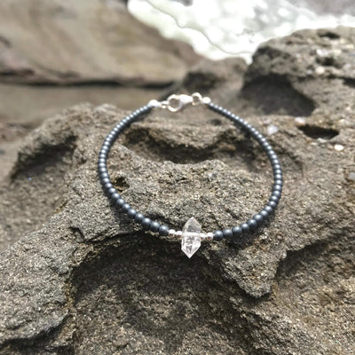 seeker of light herkimer diamond bracelet for healing