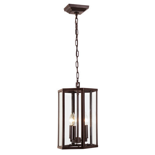 JVI Designs George 3 Light Foyer Pendant, 3058 - Farmhouse Kitchen and Bath