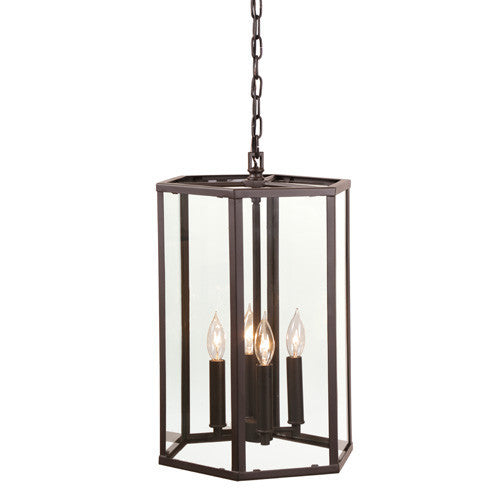 JVI Design George 4 Light Foyer Pendant, 3059 - Farmhouse Kitchen and Bath