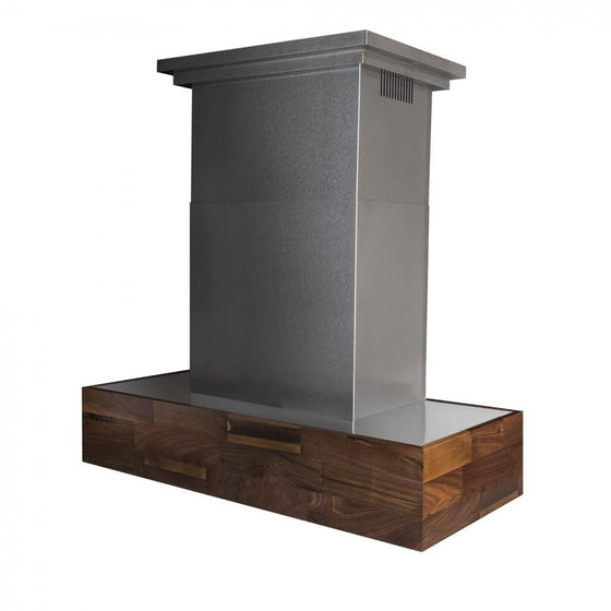 "ZLINE 48"" Remote Blower Wooden Wall Range Hood, 681W-RD-48 - Farmhouse Kitchen and Bath"
