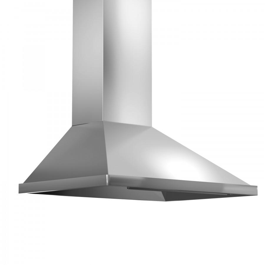 "ZLINE 36"" Stainless Steel Wall Range Hood, 696-36 - Farmhouse Kitchen and Bath"