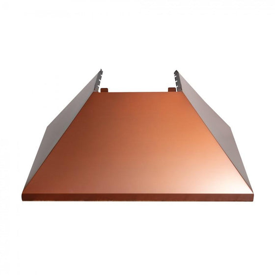 "36"" Colored Range Hood Shell in Copper (8654-SH-C-36)- Shell Only - Farmhouse Kitchen and Bath"