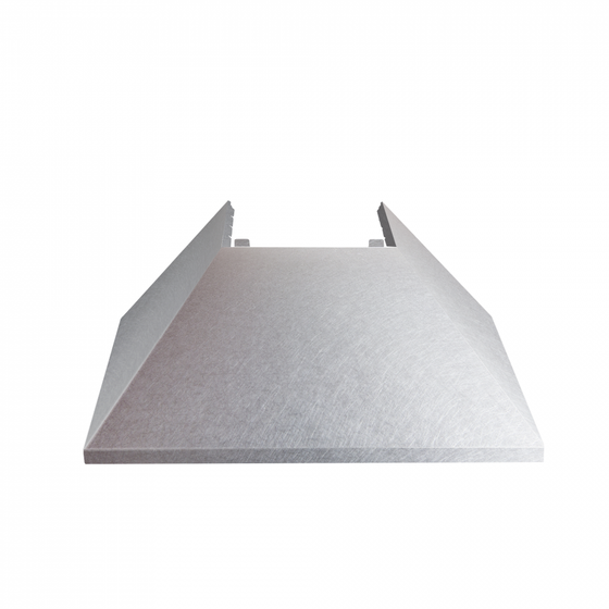 "36"" Colored Range Hood Shell, Snow Finish, 8654-SH-SN-36, Shell Only - Farmhouse Kitchen and Bath"