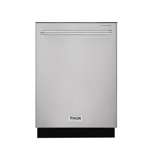 THOR 24″ Dishwasher in Stainless Steel, HDW2401SS - Farmhouse Kitchen and Bath