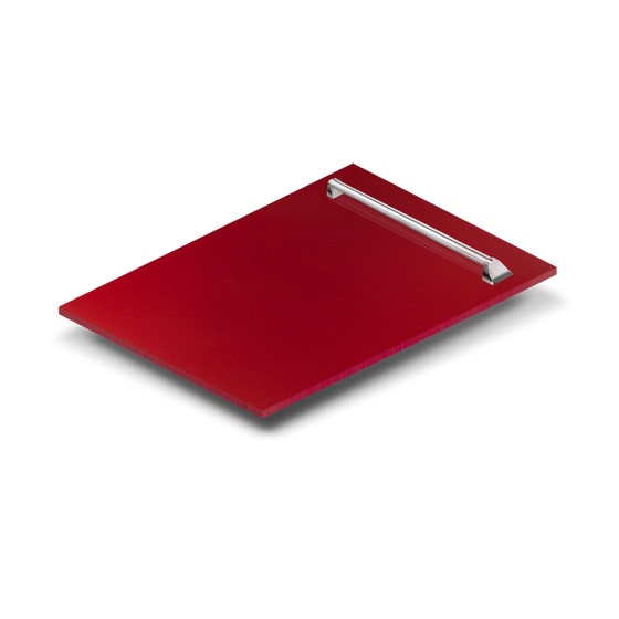 "18"" Dishwasher Panel in Red Gloss, (DP-RG-18) - Farmhouse Kitchen and Bath"