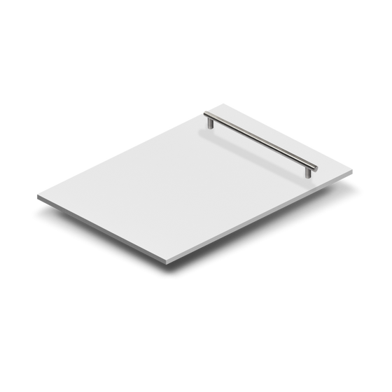 "18"" Dishwasher Panel in White Matte, (DP-WM-H-18) - Farmhouse Kitchen and Bath"