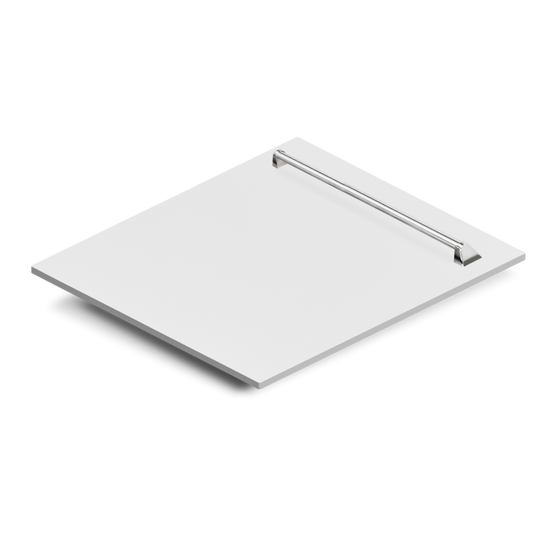 "24"" Dishwasher Panel in White Matte,(DP-WM-24) - Farmhouse Kitchen and Bath"