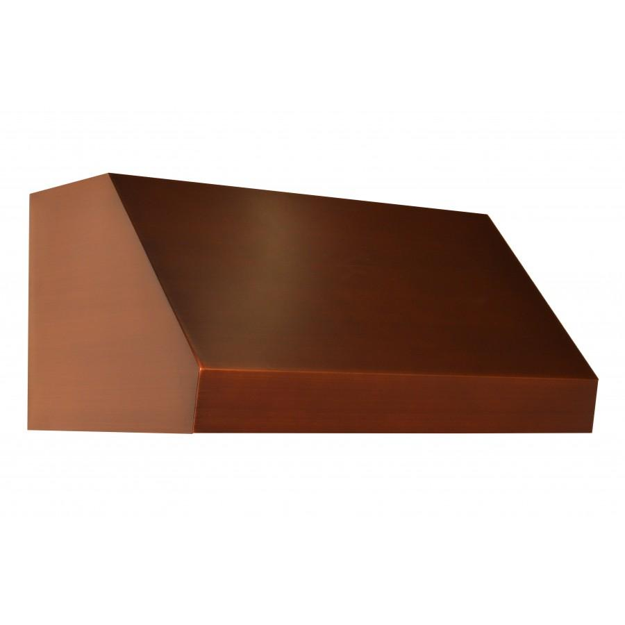 "ZLINE 42"" Copper Under Cabinet Range Hood 8685C-42 - Farmhouse Kitchen and Bath"