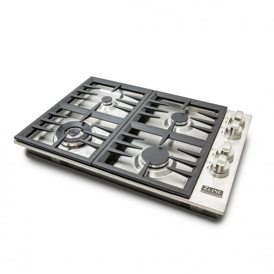 ZLINE 30 inch Dropin Cooktop with 4 Gas Burners, RC30 - Farmhouse Kitchen and Bath