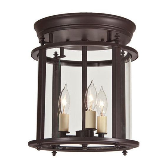 JVI Designs Murray Hill Bent Glass Ceiling Lantern, 3018 - Farmhouse Kitchen and Bath