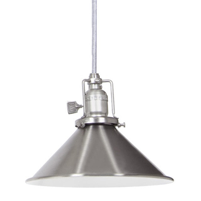 JVI Designs 1 Light Union Square Pendant, 15ft Cord 1201 M3 - Farmhouse Kitchen and Bath