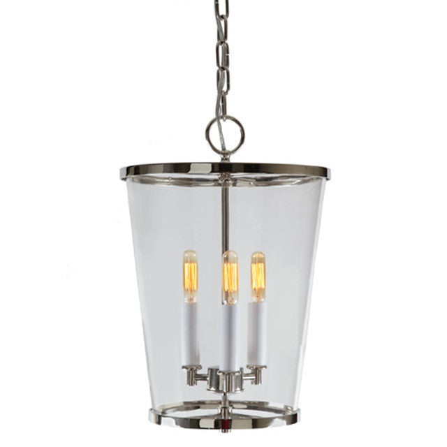 JVI Design Charleston 3 Light Medium Chandelier 3051 - Farmhouse Kitchen and Bath