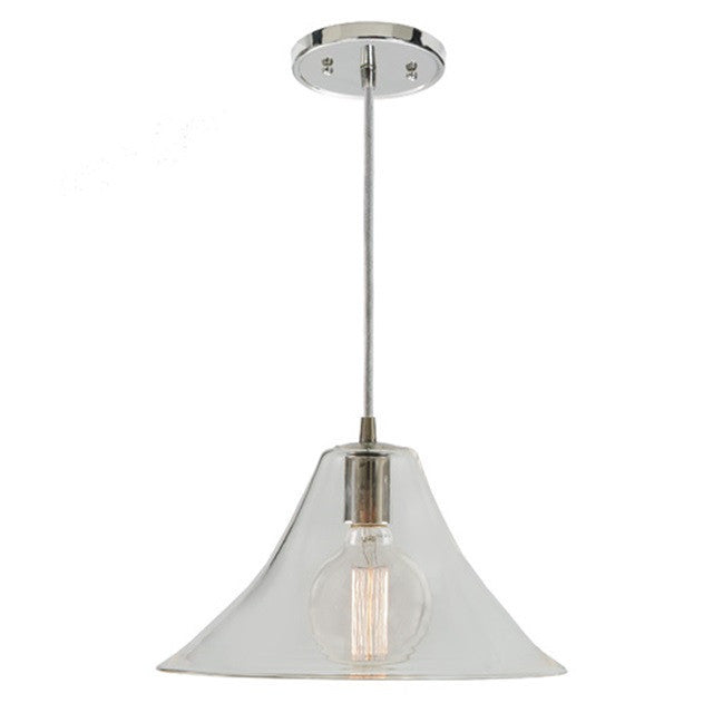 JVI Designs 1 Light Grand Central Pendant, 1300 G4 AM - Farmhouse Kitchen and Bath
