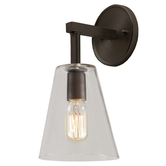 "JVI Designs 1 Light Grand Central 6"" Sconces, 1303 G1 - Farmhouse Kitchen and Bath"