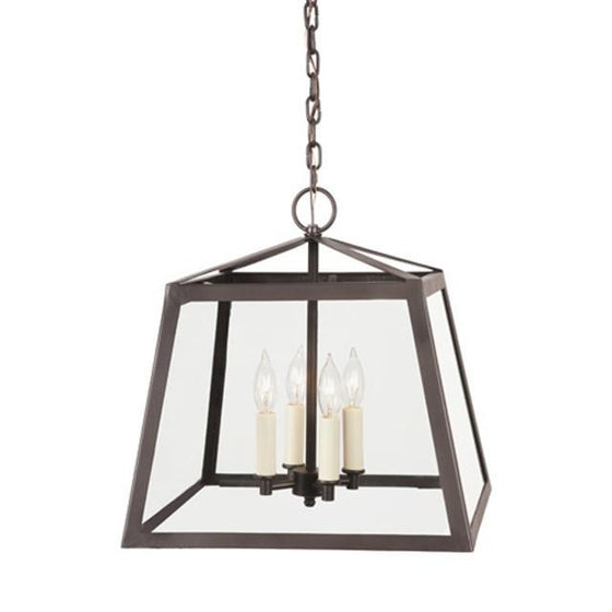 JVI Designs 3 Light large Troy Lantern, 3037 - Farmhouse Kitchen and Bath