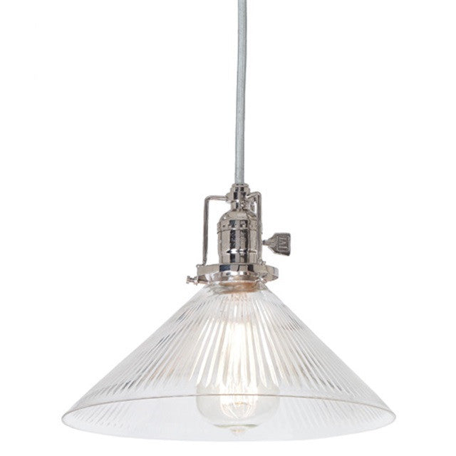 JVI Designs 1 Light Union Square Pendant, 1201 S2 CR - Farmhouse Kitchen and Bath