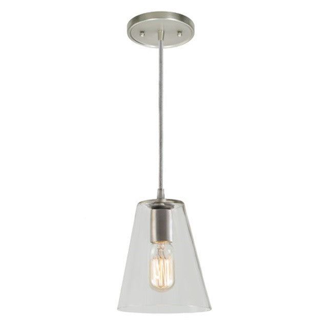 "JVI Designs 1 Light Grand Central Pendant 6"" WIDE, 1300 G1 - Farmhouse Kitchen and Bath"