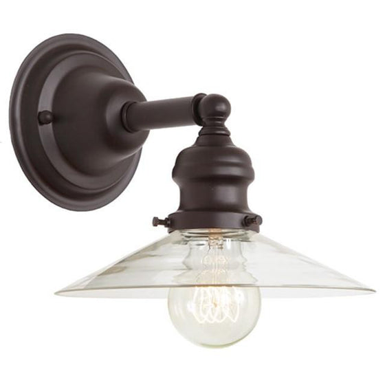 JVI Designs 1 Light Union Square Sconces, 1210 S1 - Farmhouse Kitchen and Bath