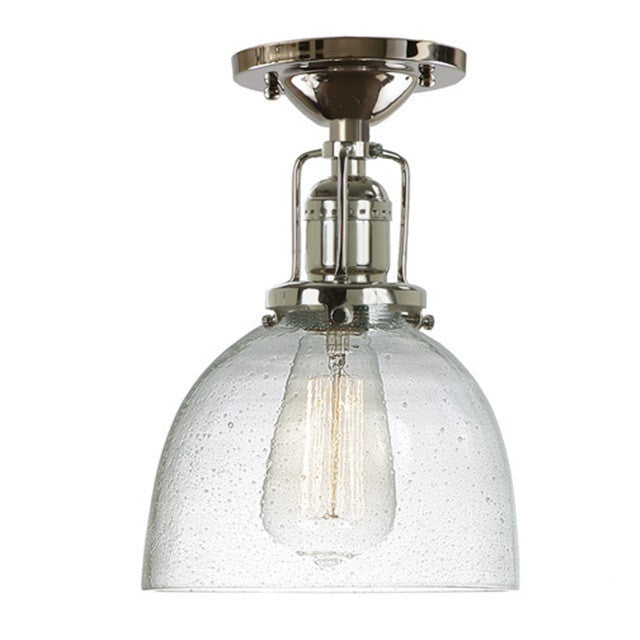 "JVI Designs 1 Light Union Square Ceiling Mount 7"" 1202 S5 CB - Farmhouse Kitchen and Bath"